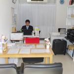 事務所内の様子